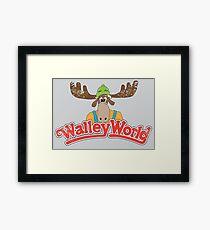 Walley World - Vintage Framed Print