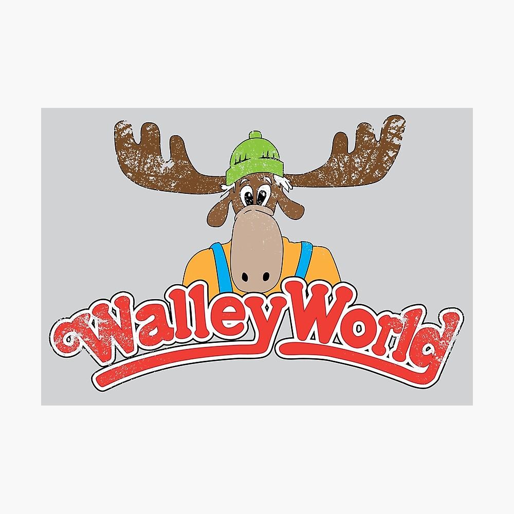 Walley Welt - Weinlese Fotodruck