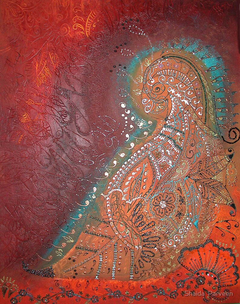 'Eastern Leaf' by Shaida  Parveen
