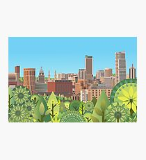 Urban Summer Photographic Print