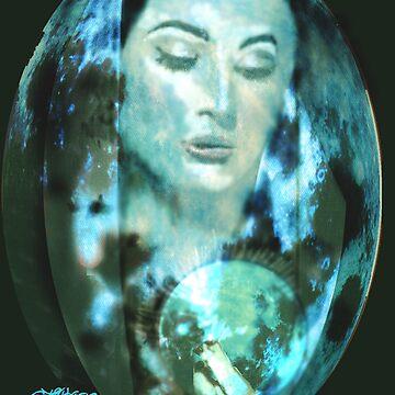 Madonna Moon by sethweaver