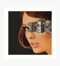 I'm Watching You! Art Print