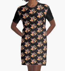 Banana Boat Graphic T-Shirt Dress