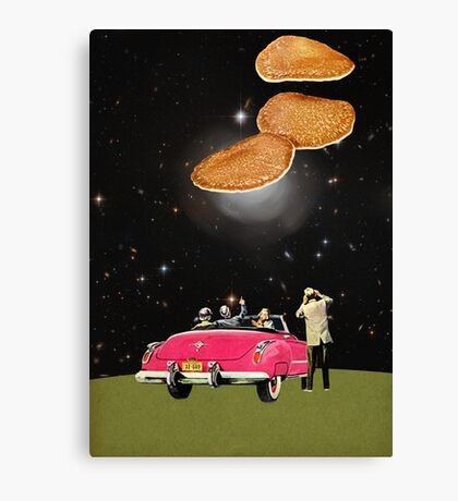 Unidentified flying object Canvas Print