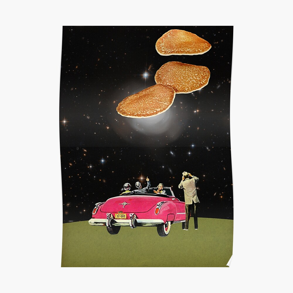 Unidentified flying object Poster