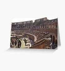 Gladiators' call Greeting Card