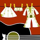 Elvis Laundry by Sonia Pascual
