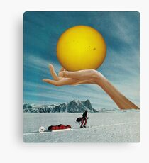 Sunspot Canvas Print