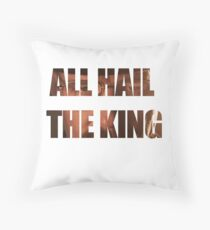 Breaking bad - Heisenberg all hail the king quotes Throw Pillow