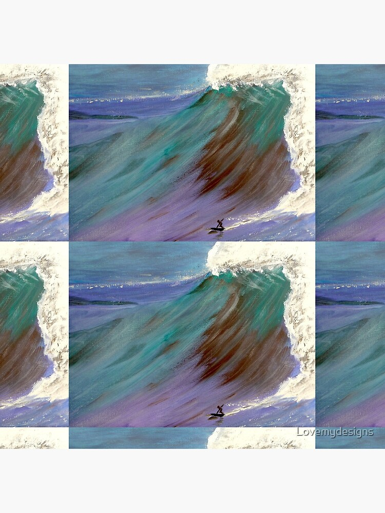 Surfer. Ocean wave by Lovemydesigns