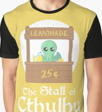 The Stall of Cthulhu Lemon 3 Graphic T-Shirt