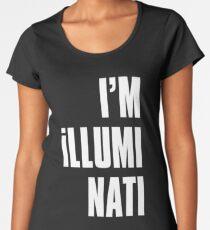 I' m illuminati Women's Premium T-Shirt