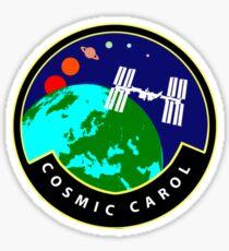 Cosmic Carol's mission patch  Sticker