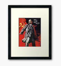 Lenin Poster Framed Print