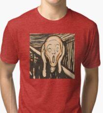 Edvard Munch ISAK skam  Tri-blend T-Shirt