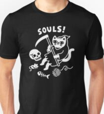 Death Cat Unisex T-Shirt