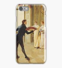 Henry Gillard Glindoni - Fan Flirtation iPhone Case/Skin
