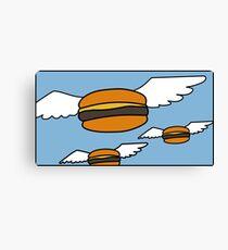 Heavenly Burgers Canvas Print