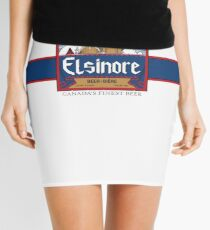 """Elsinore Beer"" - as seen on ""Strange Brew"" Mini Skirt"