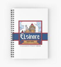"""""""Elsinore Beer"""" - as seen on """"Strange Brew"""" Spiral Notebook"""