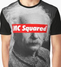 Albert Einstein MC Squared Supreme Graphic T-Shirt