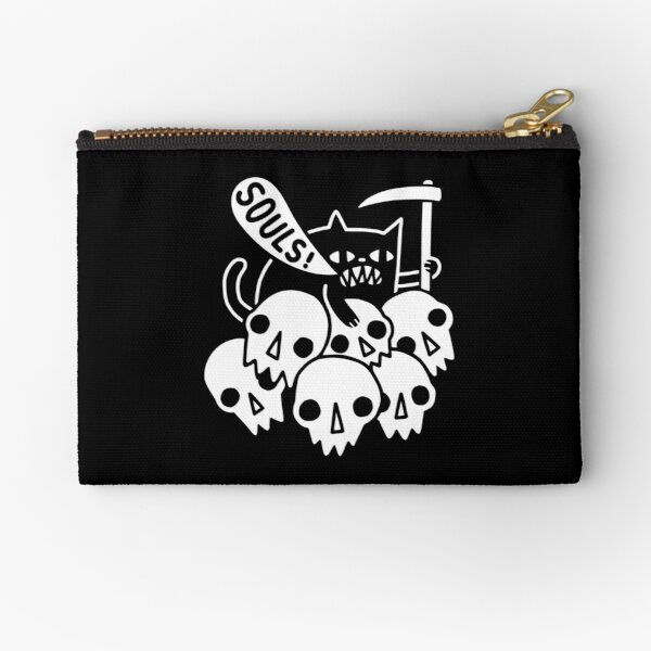 Cat Got Your Soul? Zipper Pouch