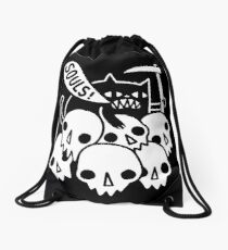 Cat Got Your Soul? Drawstring Bag