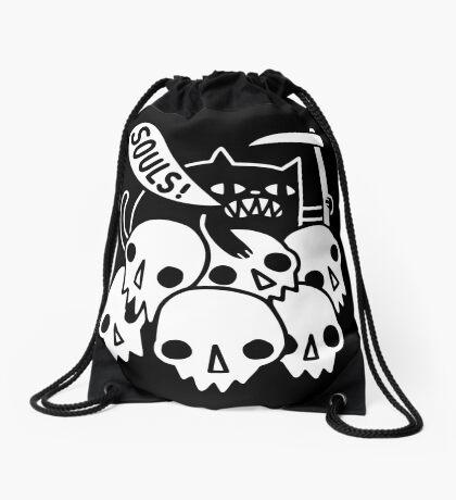 Cat Got Your Soul? Drawstring Bag