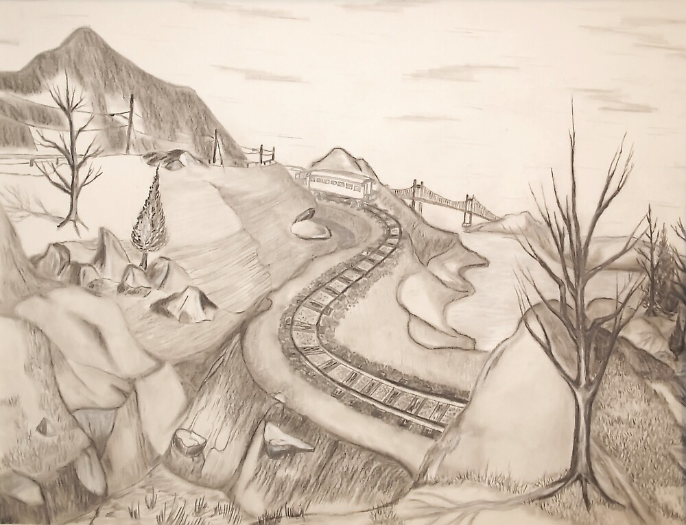 Mountain Pass by Weshon  Hornsby