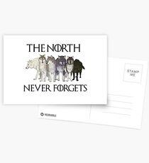 DER NORD VERGESSEN NIE Postkarten