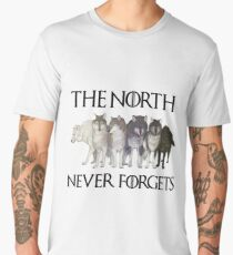 THE NORTH NEVER FORGETS Men's Premium T-Shirt