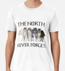 Camiseta premium EL NORTE NUNCA SE OLVIDE