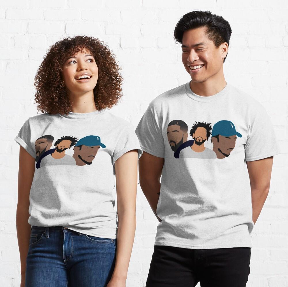 Drake, J Cole, Kendrick Lamar Classic T-Shirt