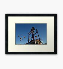 Balloons Framed Print