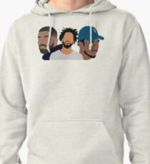 Drake, J Cole, Kendrick Lamar Shirt  Pullover Hoodie