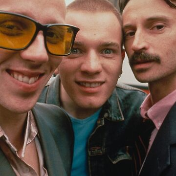 Trainspotting Spud Renton y Begbie de moviesncartoons