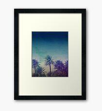 Palm Paradise Framed Print