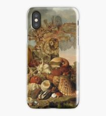 Henricus Franciscus Wiertz - Shells And Marine Plants iPhone Case/Skin