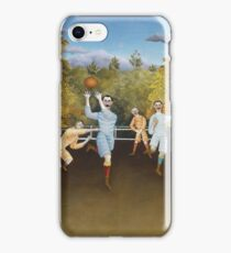 Henri Rousseau - The Football Players iPhone Case/Skin