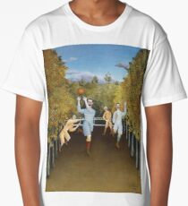 Henri Rousseau - The Football Players Long T-Shirt