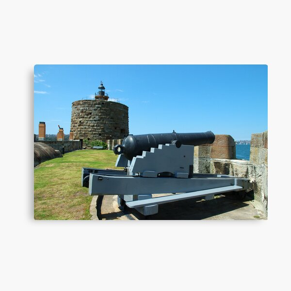 Cannon & Fort Denison Canvas Print