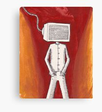 Some Just Want to Watch the World Burn Canvas Print
