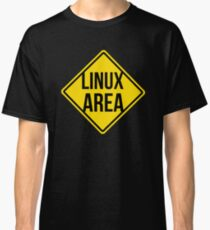Linux area Classic T-Shirt
