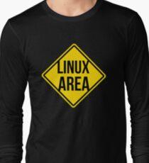 Linux area Long Sleeve T-Shirt