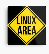 Linux area Metal Print