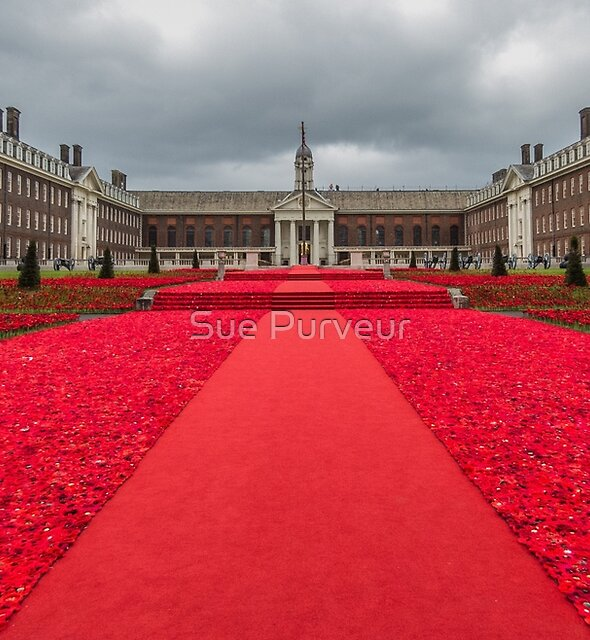 Carpet of commemoration - Royal Hospital, Chelsea by Sue Purveur