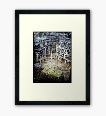 Paternoster Sq. Framed Print