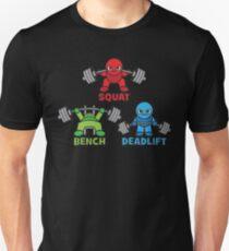 Kawaii Powerlifter - Squat, Bench Press, Deadlift (Triangle) Unisex T-Shirt