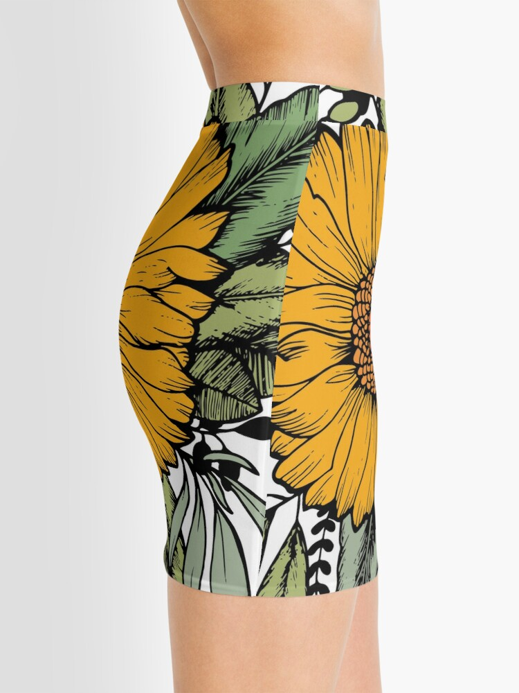 Alternate view of SUNFLOWER Mini Skirt