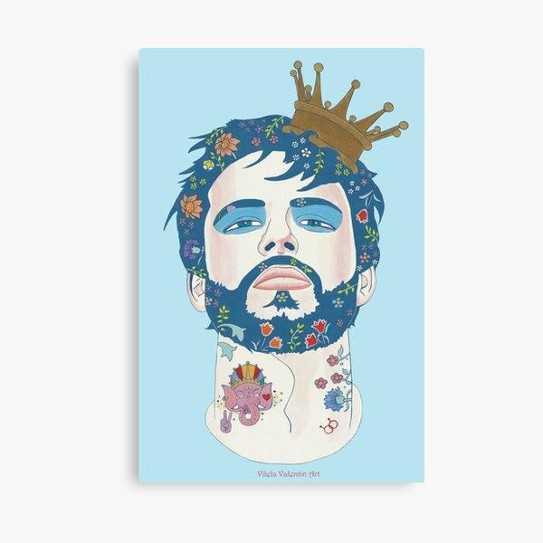 Alle Männer sind Könige Canvas Print